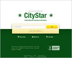 CityStar: International business directory