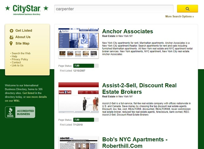 New York business directory
